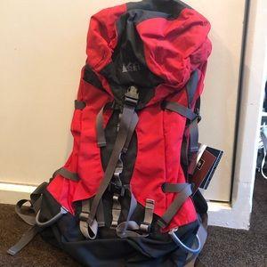 REI hiking backpack